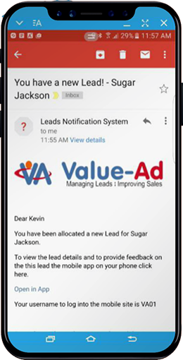 lead management email
